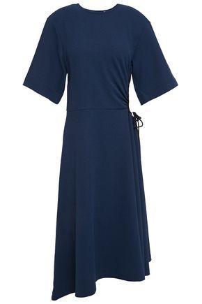 SEE BY CHLOÉ فستان بتصميم ملموم من الكريب المرن مع أجزاء مقصوصة