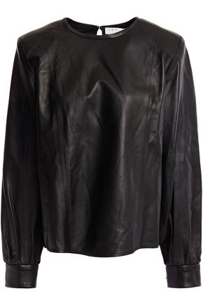 IRO Leather blouse