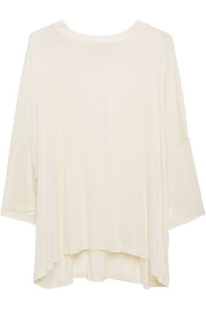 IRO Woobly draped jersey top