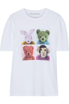 STELLA McCARTNEY Bad Toys printed cotton-jersey T-shirt