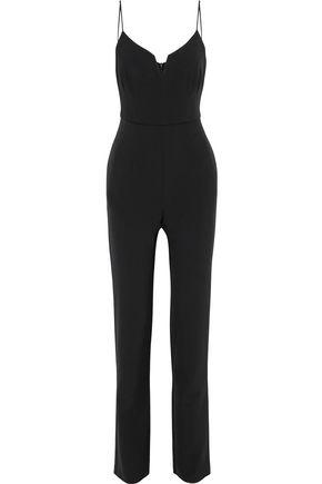 BLACK HALO Stretch-cady jumpsuit