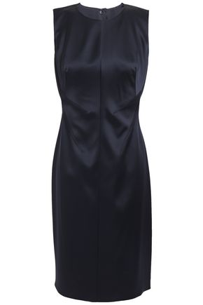 ELIE TAHARI Dorit satin dress