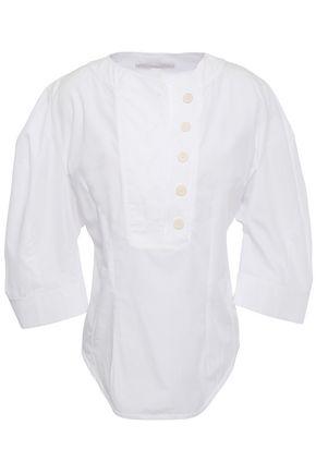 STELLA McCARTNEY Cotton-poplin blouse