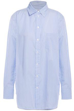EQUIPMENT Kenton striped cotton-poplin shirt