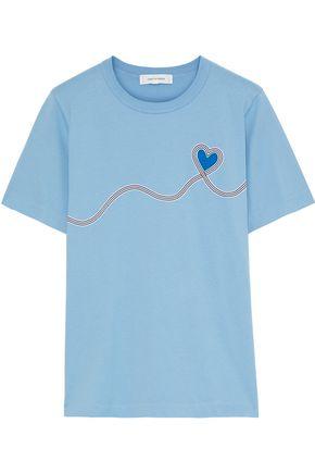 CHINTI & PARKER Printed cotton-jersey T-shirt