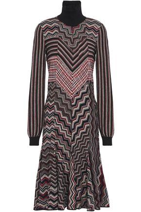 MISSONI فستان واسع من مزيج الصوف