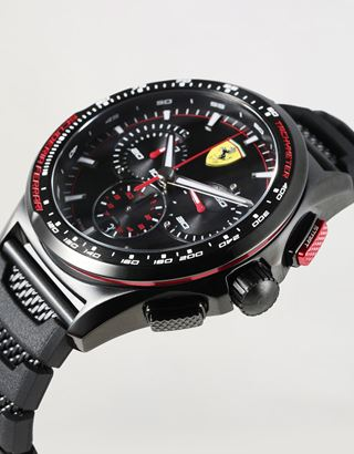 Scuderia Ferrari Online Store - Limited Edition Swiss-made Pilota Evo Watch - Chrono Watches