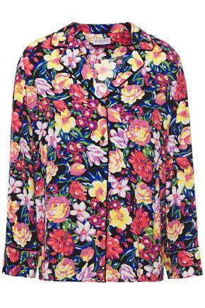 CLAUDIE PIERLOT Floral-print crepe shirt