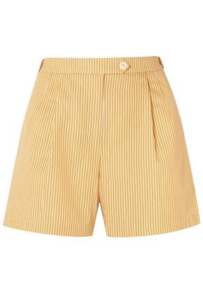 TORY BURCH Striped cotton shorts