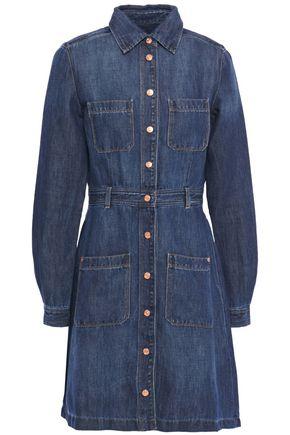 7 FOR ALL MANKIND Denim mini shirt dress