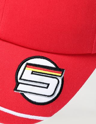 Scuderia Ferrari Online Store - Casquette Vettel Scuderia Ferrari Replica 2020 - Casquettes de baseball
