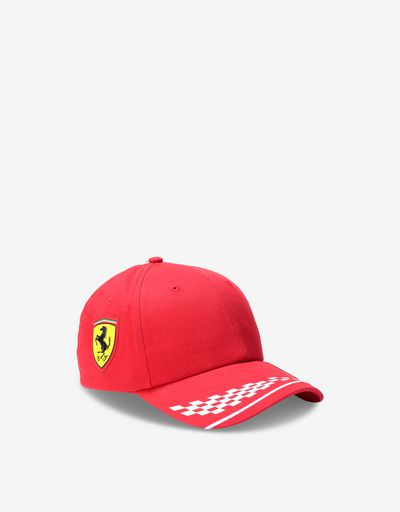 Scuderia Ferrari Online Store - Scuderia Ferrari 2020 Replica kids' Vettel cap - Baseball Caps