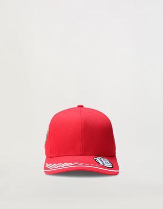 Scuderia Ferrari Online Store - Kids' Scuderia Ferrari 2020 Replica Leclerc cap - Baseball Caps