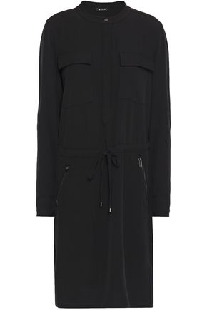 DKNY Stretch-crepe dress