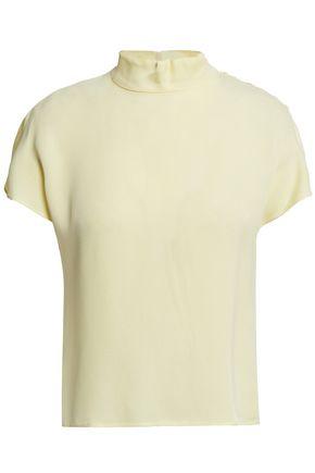 LES HÉROÏNES by VANESSA COCCHIARO Button-embellished cady blouse