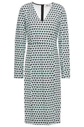 DIANE VON FURSTENBERG Milena printed stretch-jersey dress