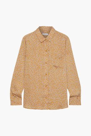 EQUIPMENT Leema floral-print satin-crepe shirt