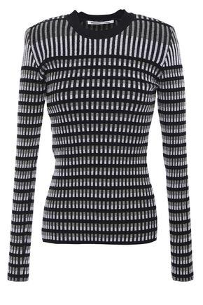 McQ Alexander McQueen Cotton-blend jacquard sweater