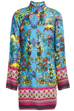 F.R.S. FOR RESTLESS SLEEPERS Menezio printed jacquard tunic