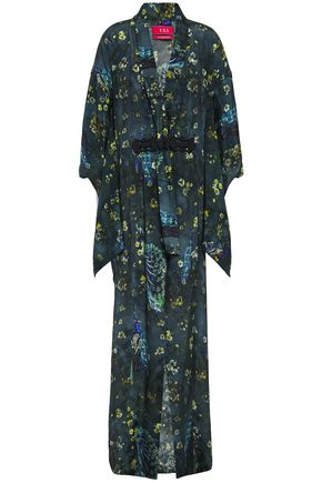 F.R.S. FOR RESTLESS SLEEPERS Edone printed crepe de chine kimono