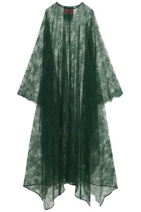 F.R.S. FOR RESTLESS SLEEPERS Asymmetric lace maxi dress