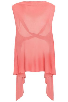 VALENTINO Open-back knitted top