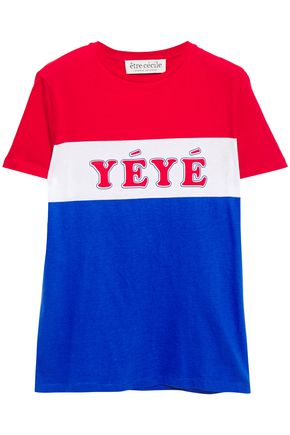 ÊTRE CÉCILE Yeye Girls printed cotton-jersey T-shirt