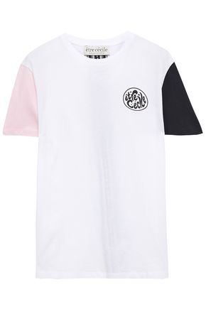 ÊTRE CÉCILE Printed cotton-jersey T-shirt