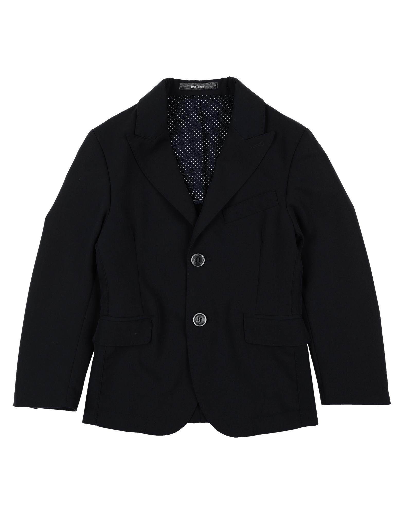 26.7 Twentysixseven Kids' Suit Jackets In Dark Blue