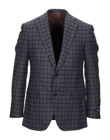 Фото - Мужской пиджак  грифельно-синего цвета