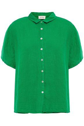 AMERICAN VINTAGE قميص من الكتان
