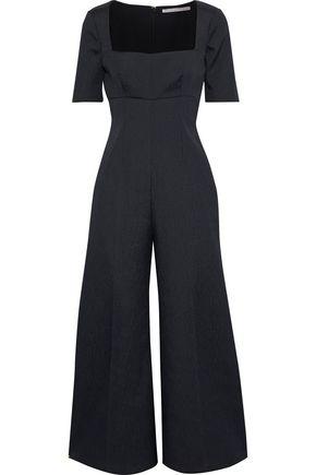 EMILIA WICKSTEAD Audie cloqué wide-leg jumpsuit