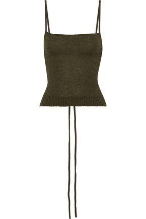 KHAITE Sandra tie-back cashmere camisole