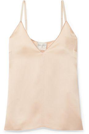 FORTE_FORTE Satin-crepe camisole