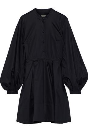 """KHAITE فستان """"أميلي"""" من قماش البوبلين القطني مع طيات"""