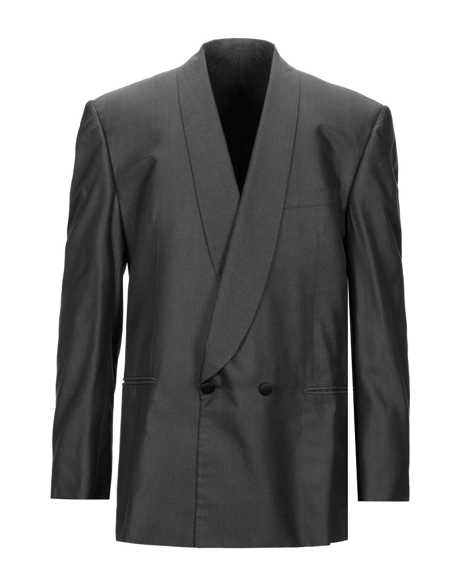 《セール開催中》BERRY London メンズ テーラードジャケット 鉛色 52 シルク