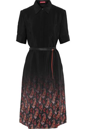 ALTUZARRA Keiran printed silk crepe de chine shirt dress