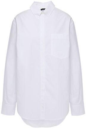 JOSEPH قميص غير متماثل من قماش البوبلين القطني