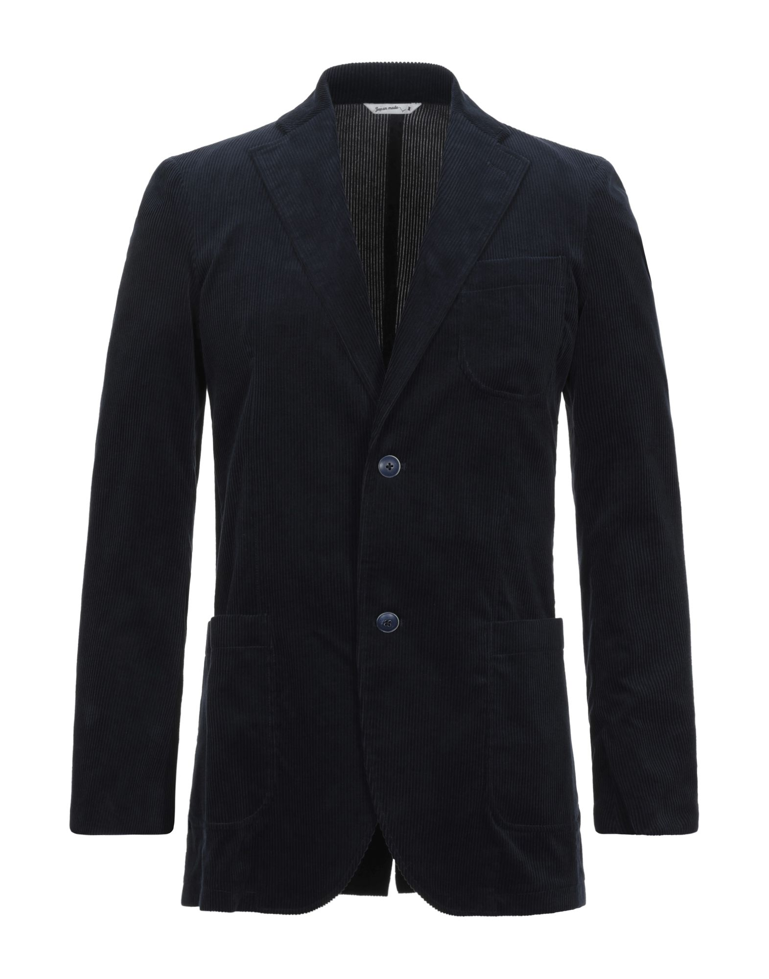 《セール開催中》HYBRID SENSOR? by FLEXJAPAN メンズ テーラードジャケット ダークブルー 52 コットン 100%