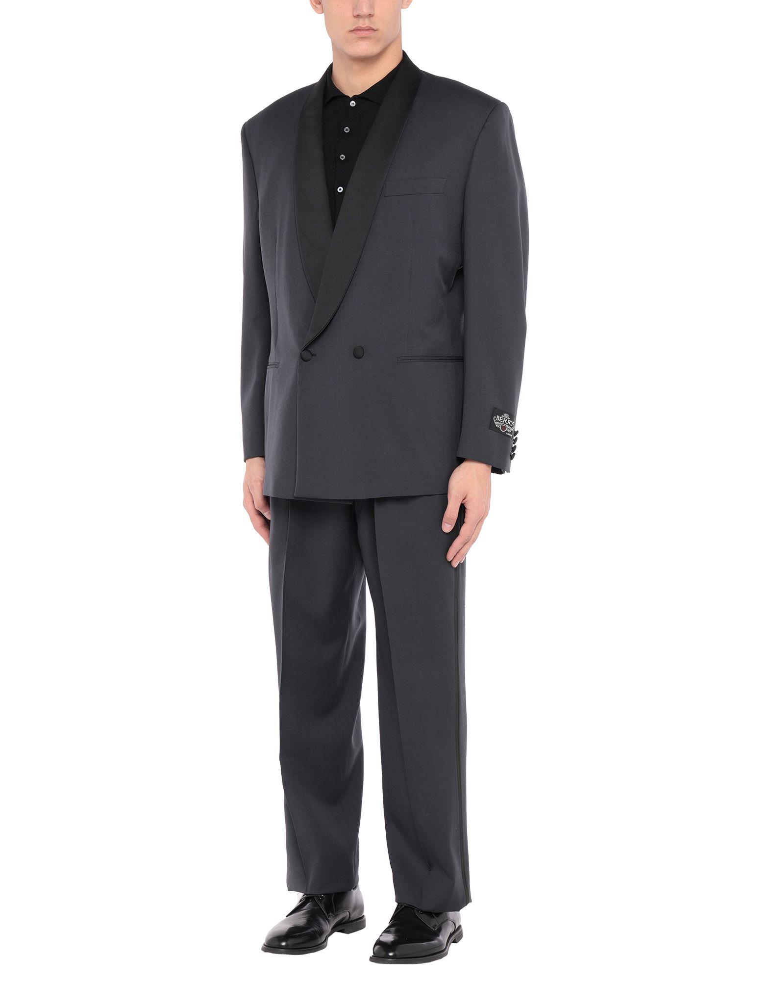 《セール開催中》BERRY London メンズ スーツ ブラック 52 ウール 100%