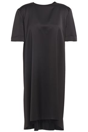 CEDRIC CHARLIER فستان قصير من الكريب الساتان