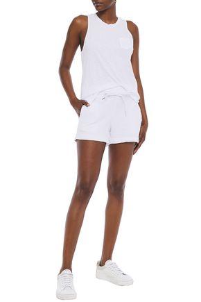Stateside Slub Supima Cotton-jersey Tank In White