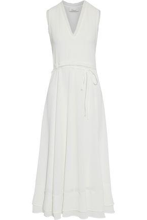 3.1 PHILLIP LIM Frayed cloqué midi dress