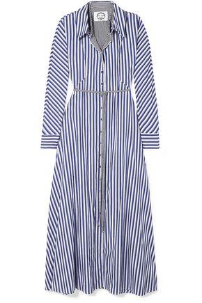 "EVI GRINTELA فستان طويل ""فيكتوريا"" من القطن المخطط"