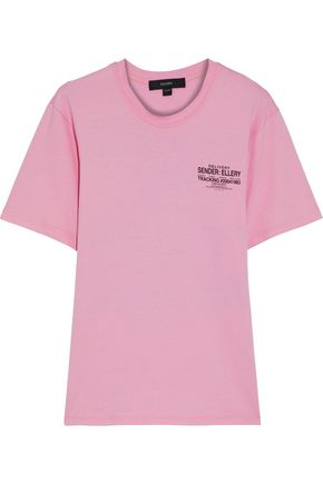 ELLERY Old Faithful printed cotton-jersey T-shirt