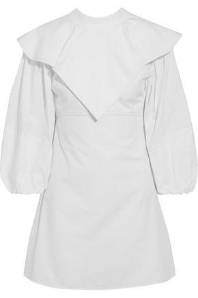 ELLERY O'Dell layered cotton-poplin mini dress