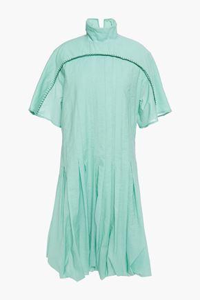 ACNE STUDIOS Crinkled cotton-blend dress