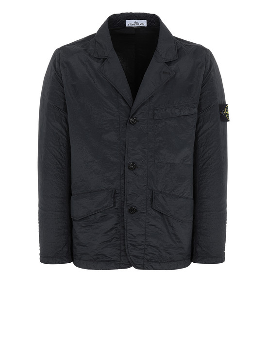 STONE ISLAND 80140 S.I.PA/PL SEERSUCKER-TC Suit Man Black