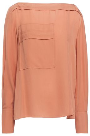 3.1 PHILLIP LIM Silk-crepe blouse