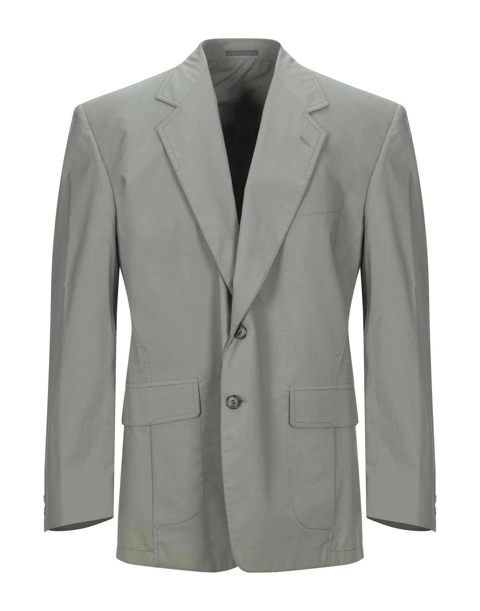《セール開催中》BERRY CLUB メンズ テーラードジャケット ライトグリーン 50 コットン 100%